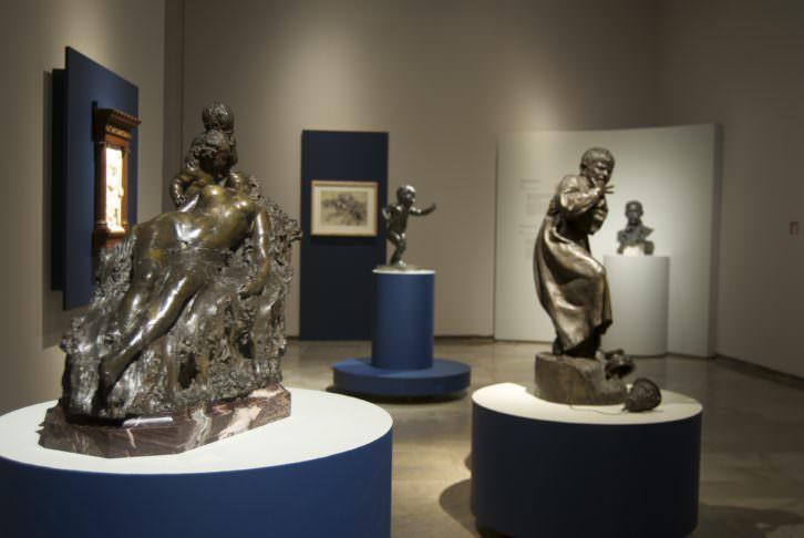 Obras de Mariano Benlliure, en el Centro del Carmen. Imagen cortesía de la Fundación Mariano Benlliure