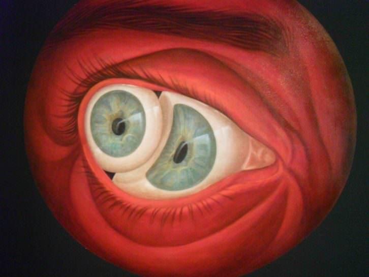 Sin título (locura), obra de Marina Núñez, en la exposición Mostruo. Historias, promesas y derivas. Imagen cortesía de la Fundación Chirivella Soriano