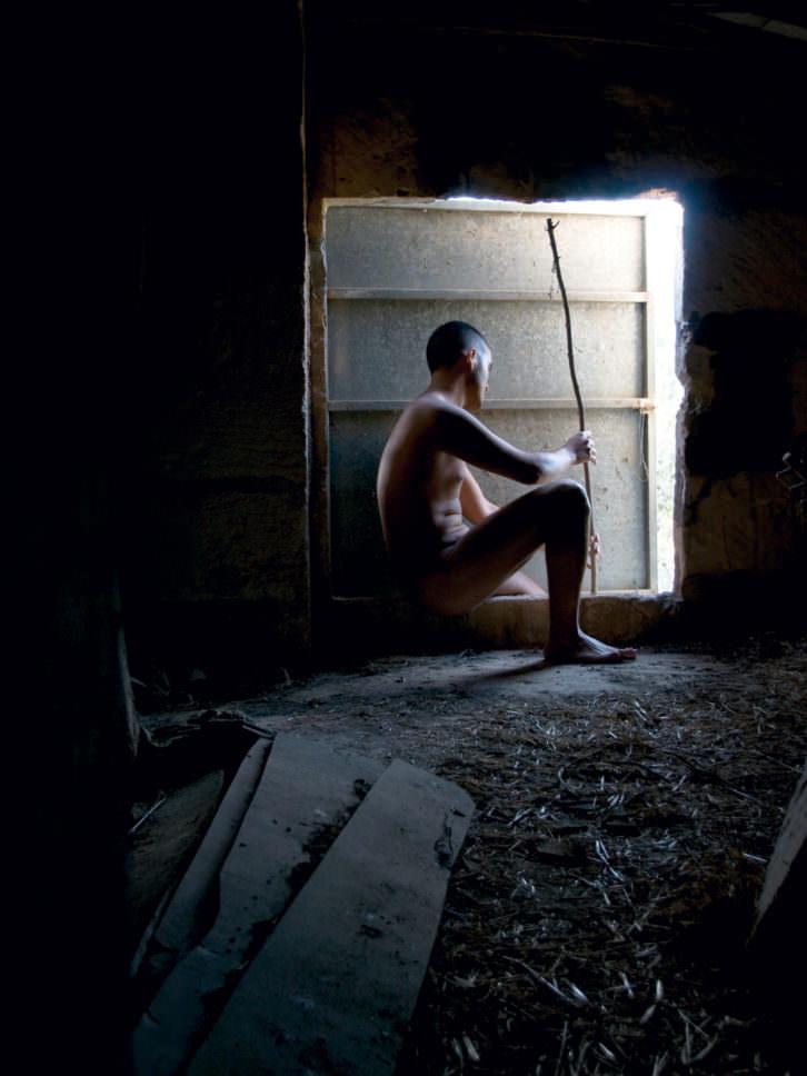 """""""Memento Mori"""", Fotografía, 60 x 80 cm, 2010. Paco y Manolo."""