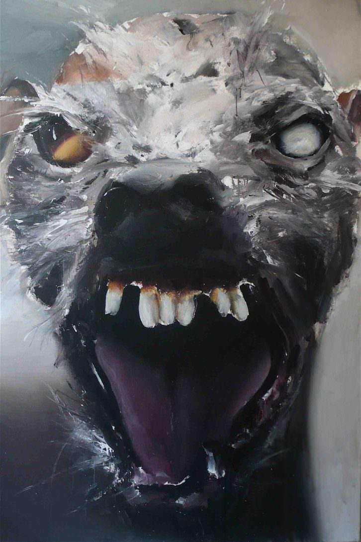 Obra de Santiago Ydáñez, en la exposición Monstruo. Historias, promesas y derivas. Imagen cortesía de la Fundación Chirivella Soriano