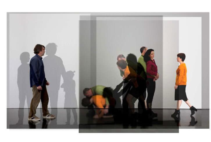 'Abuso' de Eulàlia Valldosera, para 'Lazos familiares' (2012). Imagen cortesía de Galería Maior.