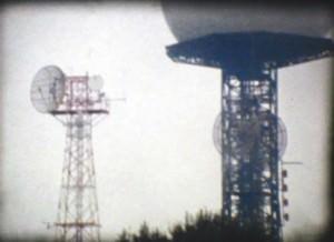 Pepa L. Poquet. Fotograma de película S-8, b/n., de la obra Puig de Randa. Imagen cortesía de la artista
