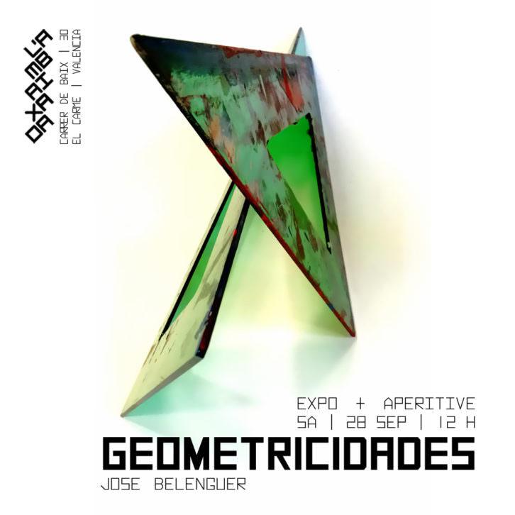 Geometricidades. José Belenguer en  L'Ambaixada.