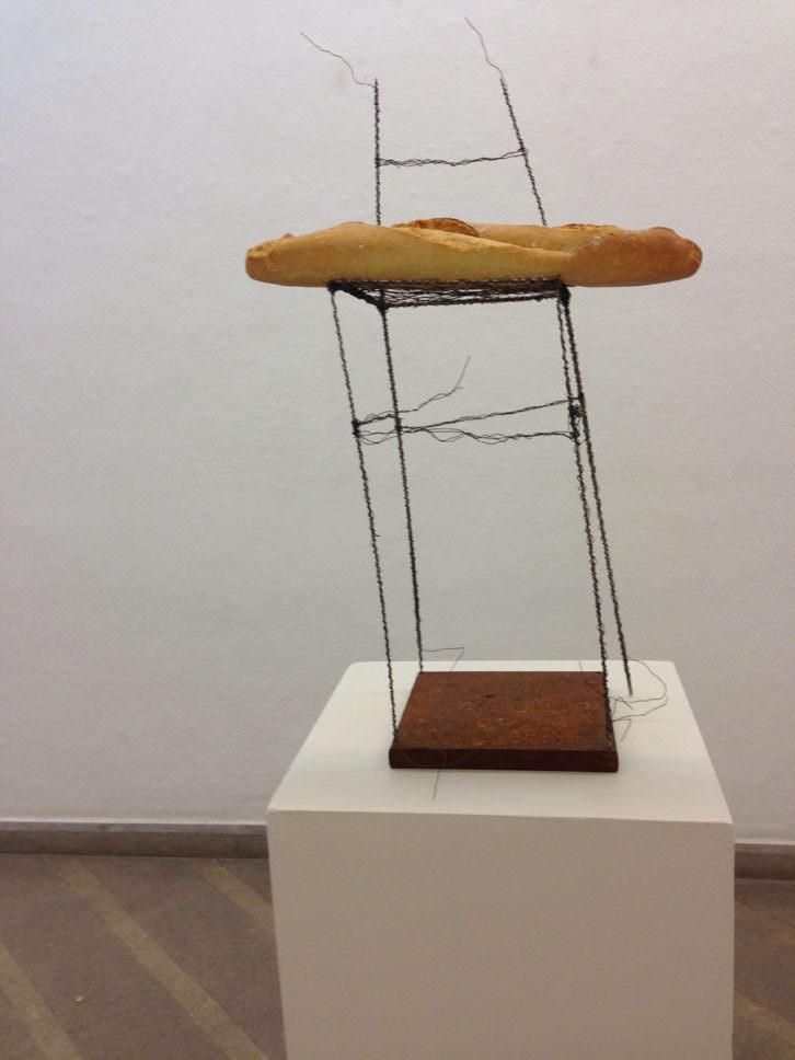 Obra de Bernhard Lehmann en Galería Cànem. Imagen cortesía de Abierto Valencia