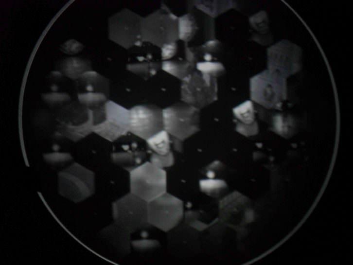 Detalle de la obra Desire of Codes, de Seiko Mikami.