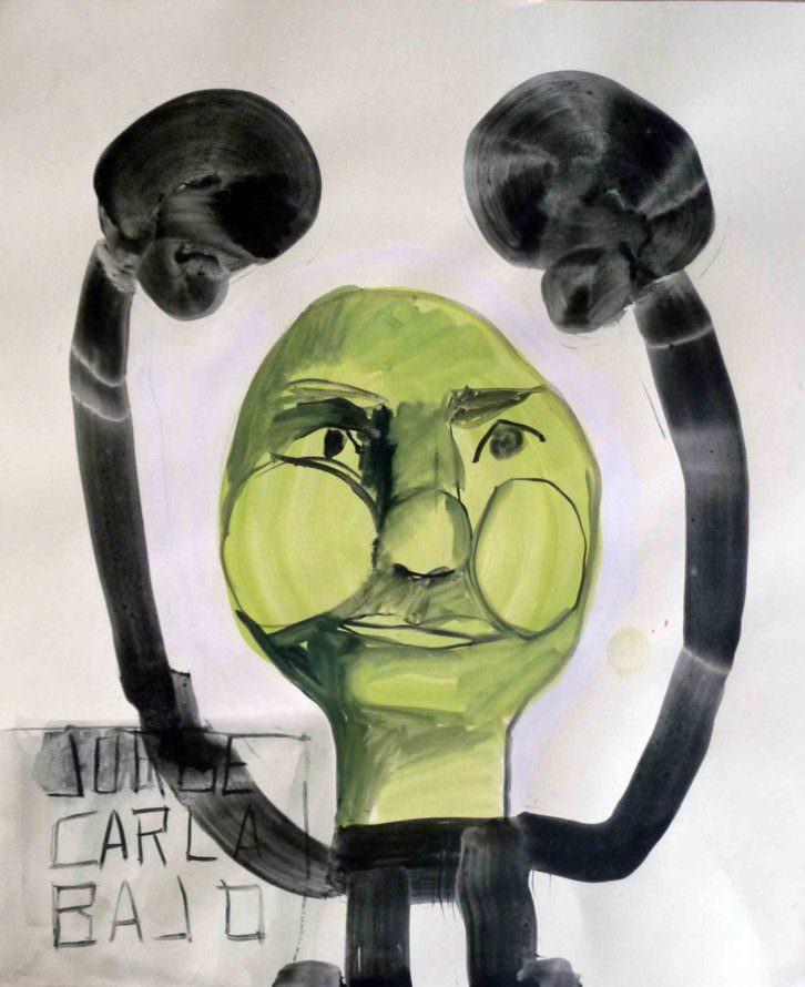 Obra de Jorge Carla en Galería Cuatro. Imagen cortesía de Abierto Valencia