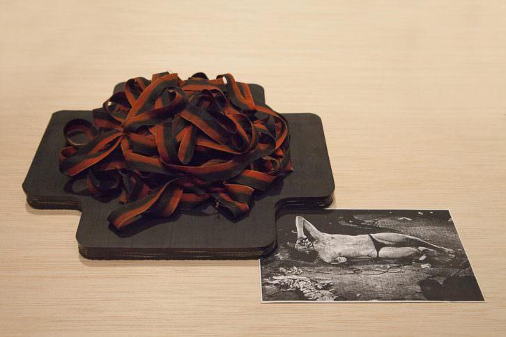 Detalle de la obra de Joan Morei, Espolones. Imagen cortesía de Espai Tactel
