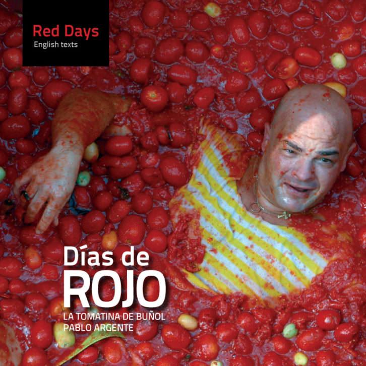 Portada del libro Días de rojo, de Pablo Argente.