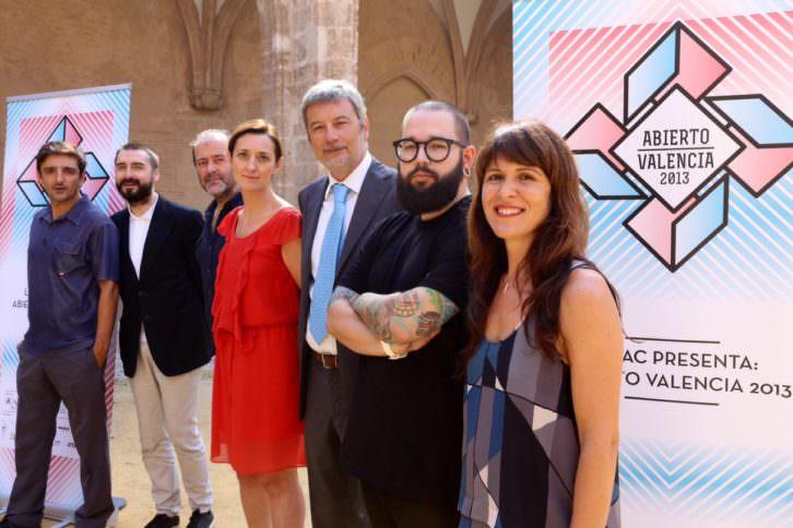De izquierda a derecha: Bernabeu, Pérez Rubio, Gandía Blasco, Adelantado, Ripoll, Chappaz y Martínez. Foto: Nacho López Ortíz