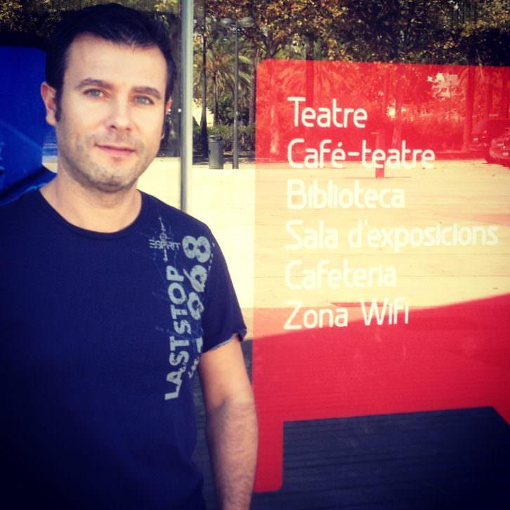 Andrés Poveda, director de la Escuela del Actor