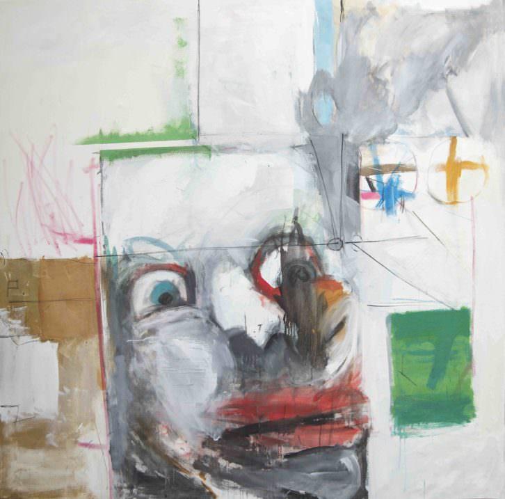 Obra de Jorge Carla en Galería Cuatro. Imagen cortesía de Galería Cuatro.