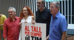 Jordi Reig, Maribel Crespo, Manolo Millares y Vicent Torrent, miembros de Al Tall.