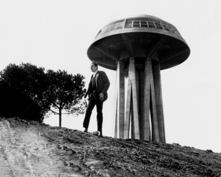 Fotograma de El último hombre sobre la tierra, de Sidney Salkow y Ubaldo Ragona. Imagen cortesía de Aula de Cinema de la Universitat de València