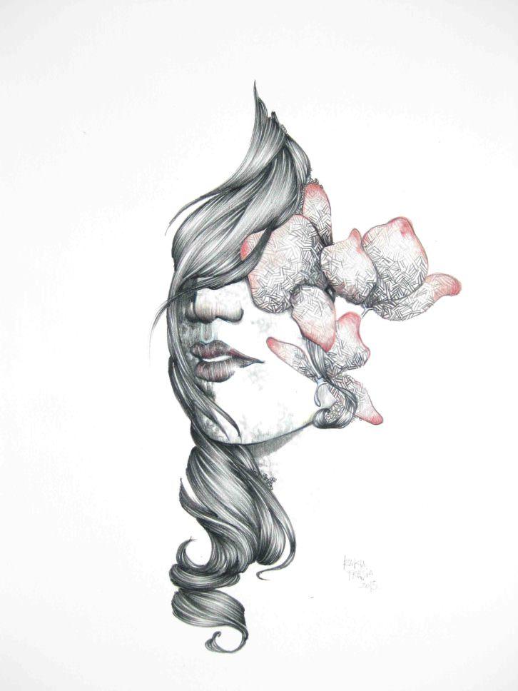 Obra de Raquel Carrero en Trentatres Gallery. Imagen cortesía de Trentatres Gallery.