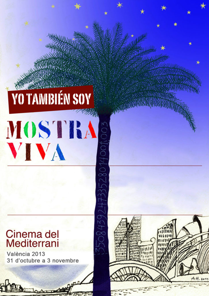 Cartel de Mostra Viva / Cinema del Mediterrani.
