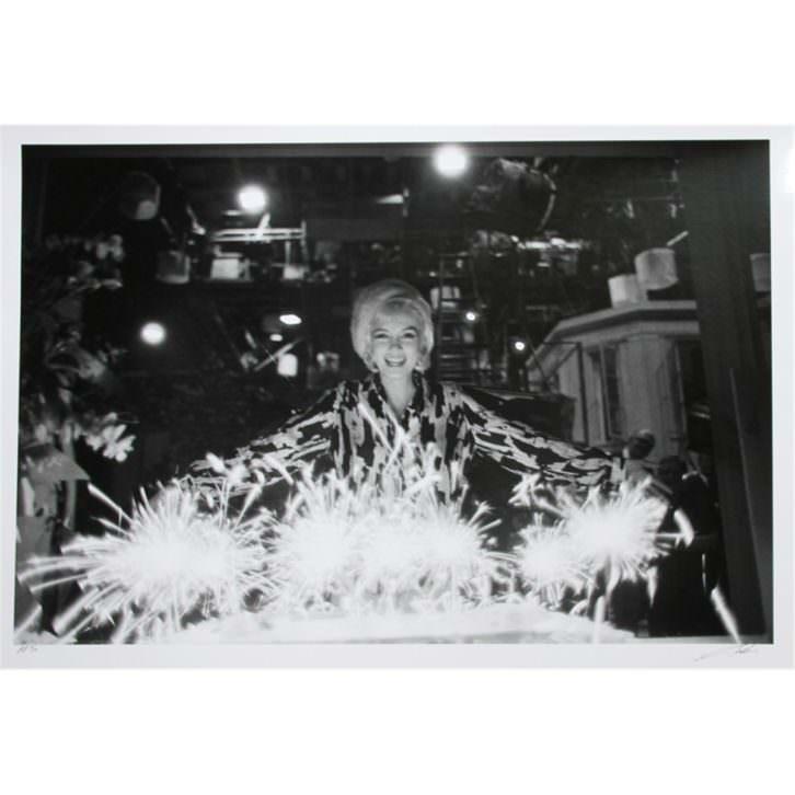 Imagen de Marilyn Monroe en la exposición de Kir Royal. Foto: Lawrence Schiller