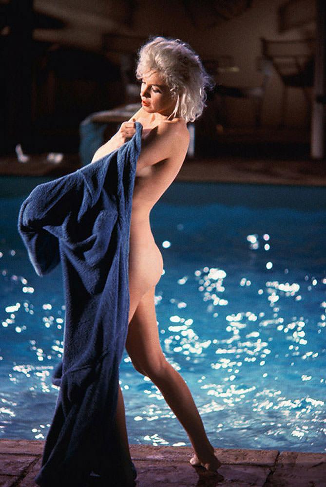 Imagen de Marilyn Monroe en la exposición de Kir Royal. Fotografía: Lawrence Schiller.