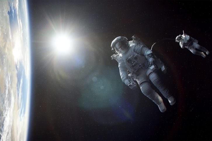 Fotograma de Gravity, película de Alfonso Cuarón.