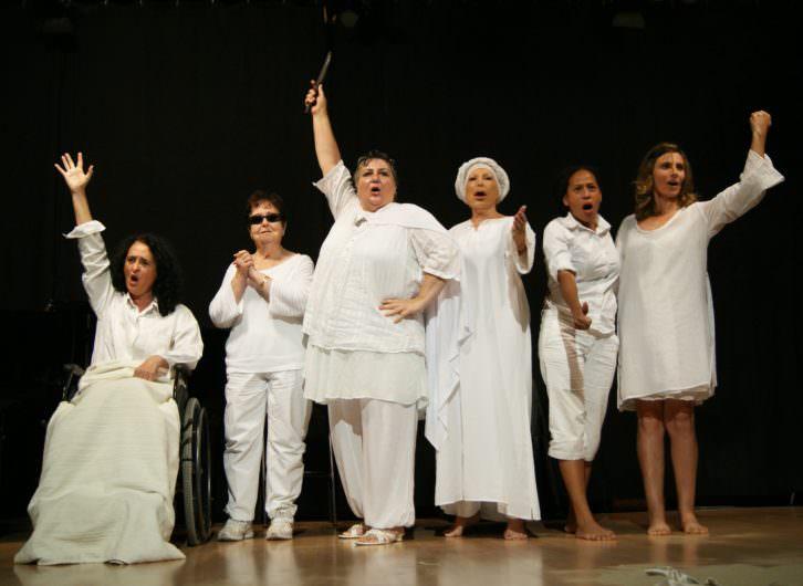 'Nosotras podemos', espectáculo del VIII Festival Octubre Dones. Imagen cortesía del festival.