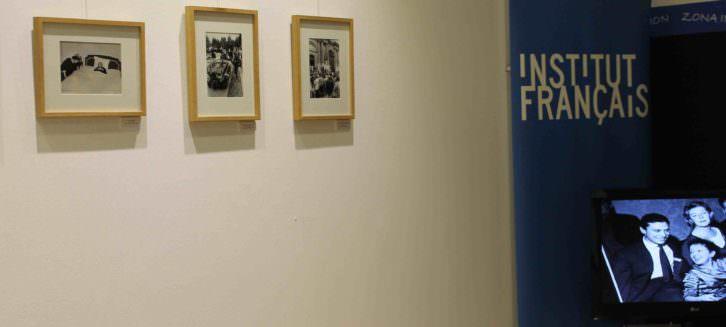 Imágenes y video de la exposición 'Fotos encontradas' dedicada a Edith Piah. Imagen cortesía del Institut Français de Valencia.