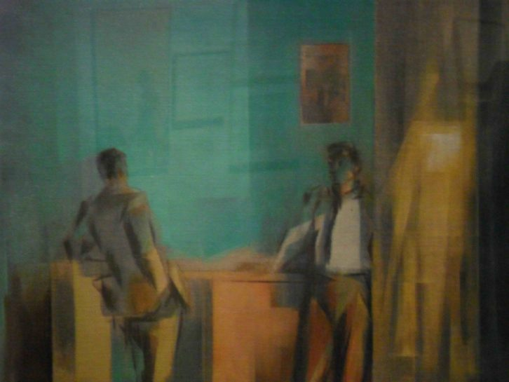 La visita, de Rafael Martí Quinto, en el Centro del Carmen.
