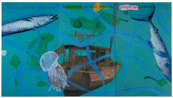 The Pilar entre aguas, de Artur Heras, en la Fundación Chirivella Soriano. Imagen cortesía del autor.