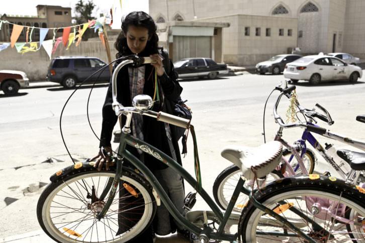 La bicicleta verde, de Haifaa Al-Mansour, presentada en Cinema Jove, nominada a las Oscar de este año. Imagen cortesía de Cinema Jove.