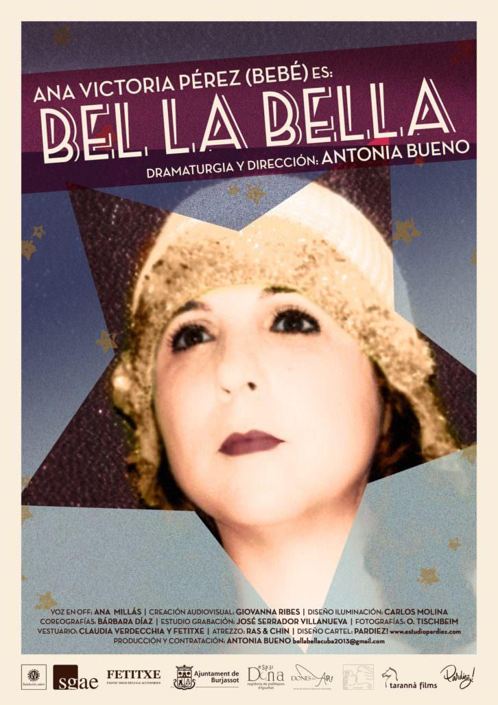Bel La Bella, en Octubre Dones. Imagen cortesía del festival.