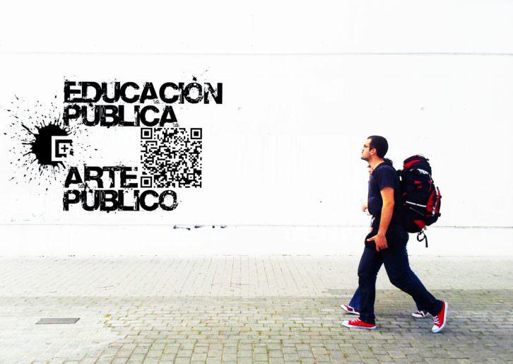 Luis Miguel Jaramillo. Educación pública + arte público. Imagen cortesía SeDI