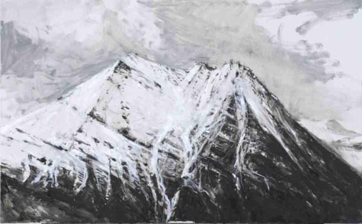 Obra de Calo Carratalá en la exposición Noruega 2011. Centro del Carmen