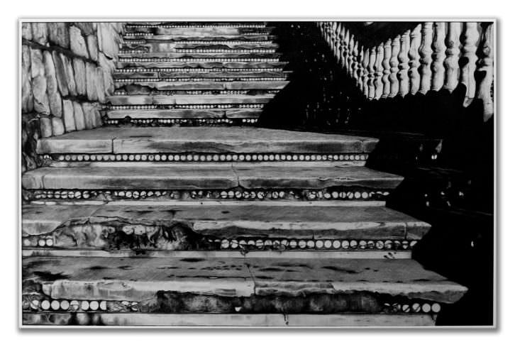 Scalae Aditus Benidormenses, de Daniel Tejero. Galería Kessler Battaglia.