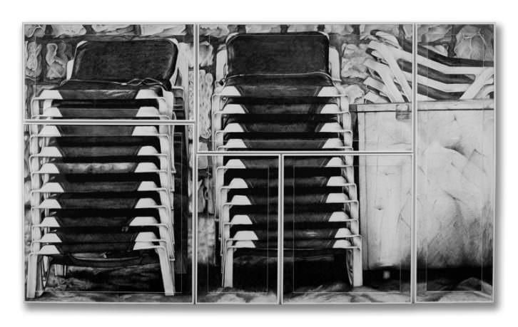Lectuli Litorales Benidormenses, de Daniel Tejero. Galería Kessler Battaglia.