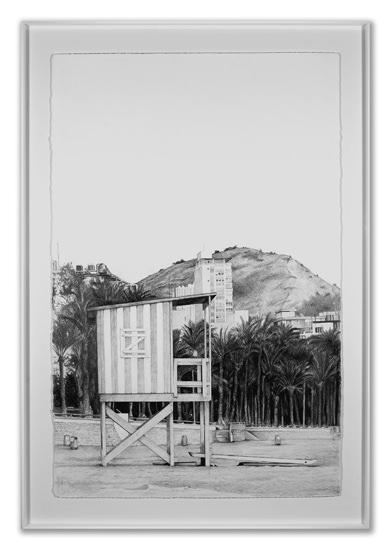 Domuncula Benidormensis Adiutoris, de Daniel Tejero. Galería Kessler Battaglia.