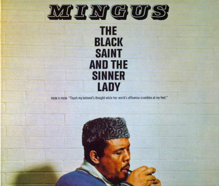 Portada del disco The Black Saint and The Sinner Lady, de Charles Mingus.