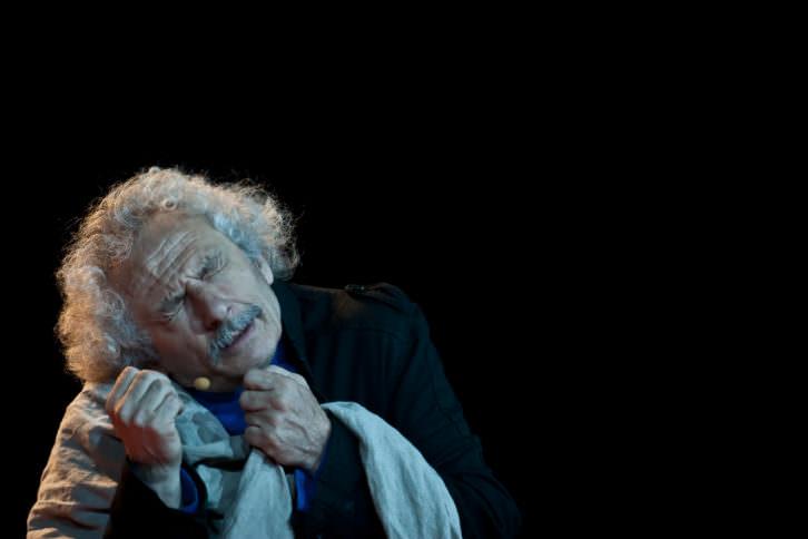 Rafael Álvarez, el brujo, en una de sus actuaciones. Fotografía por cortesía del teatro Olympia