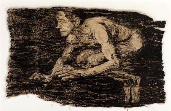 """Fly"".100x70cm. Tom Venning. Imagen cortesía de la  Kir Royal Gallery"