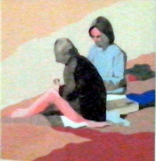 Obra de Inmaculada Martínez en 'El arte del papel'. Imagen cortesía de Galería Rosalía Sender.