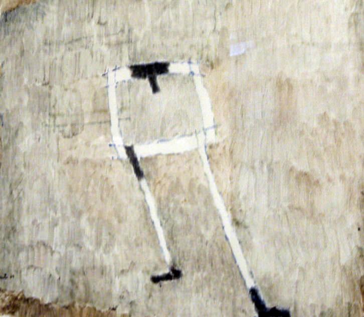 Obra de José Vento en 'El arte del papel'. Imagen cortesía de Galería Rosalía Sender.