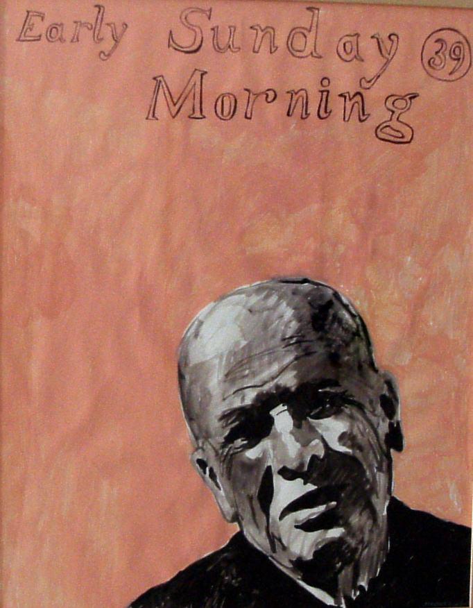 Obra de Maestre Yago en 'El arte del papel'. Imagen cortesía de Galería Rosalía Sender.