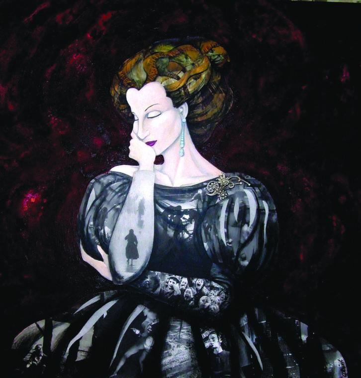 Marilyn, de Alain Navarrete para 'Claros del bosque'. Imagen cortesía de Espai Rambleta.