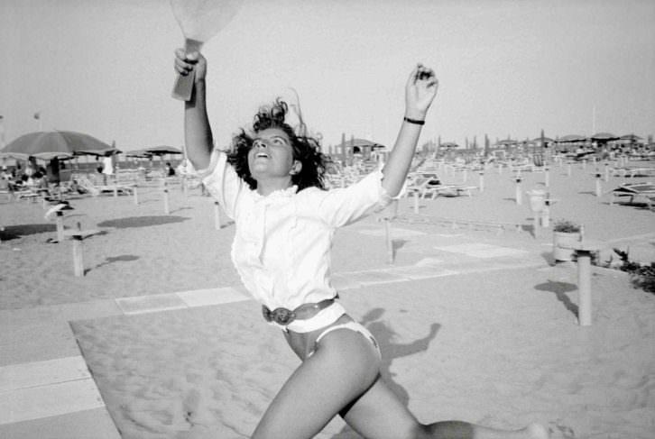 'Vacaciones a la italiana' de Claude Nori en Foto Librería Railowsky. Imagen cortesía de Railowsky.