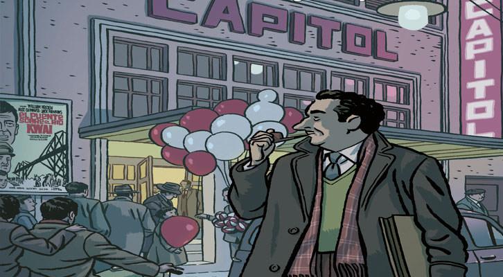Detalle de la portada de 'El libro de los cines de Valencia (1896-2014)', de Miguel Tejedor.