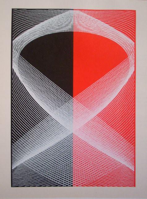 Sin título. Litografía de Abel Martín 1971