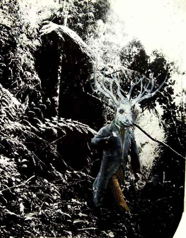 """""""Ciervo blanco"""". Jose Luis Serzo. Imagen cortesía de la Kir Royal Gallery"""