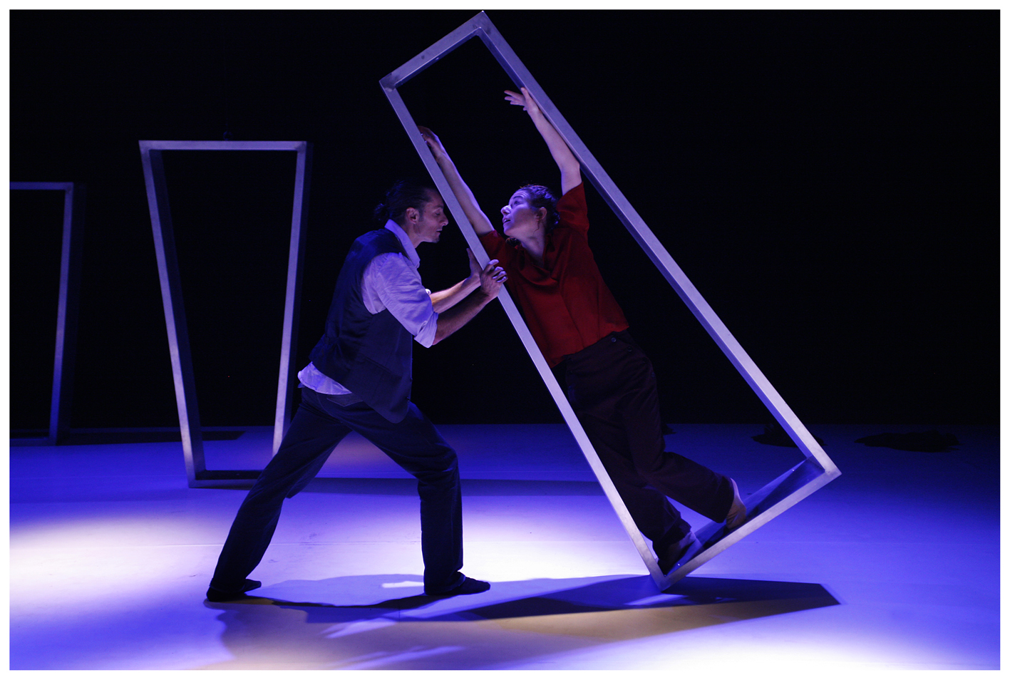 Momento de la actuación. Imagen por cortesía de Sala Russafa.