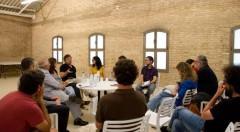 Mesa redonda, primer día. Fotografía de Verónica Francés