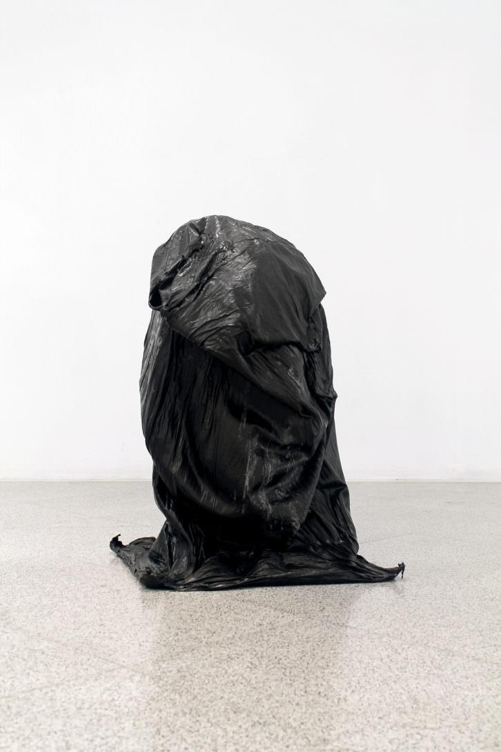 Carlos García Peláez. 7 kilos de acrílico. 78 x 52 x 50 cm. Imagen cortesía del MUA