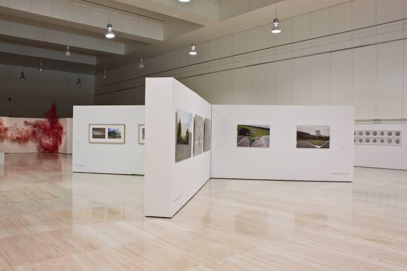 Vista general del XIII Concurso Encuentros de Arte Contemporáneo en el MUA