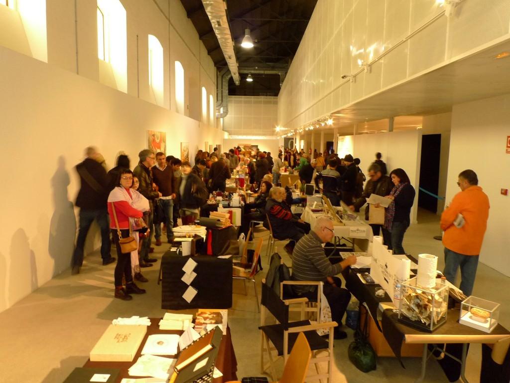 Feria alicantina de libro de Artista