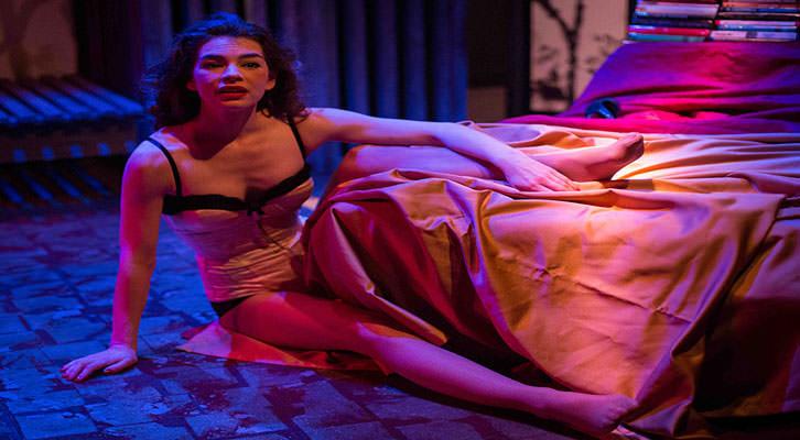 Isabell Stoffel en 'La rendición', de Toni Bentley, bajo la dirección de Sigfrid Monleón.